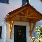 Holzvordach Bayerischer Wald 34°