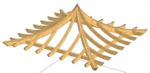 Dachform Pagode
