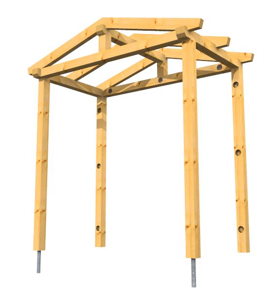 preisbeispiel satteldach vordach auf 4 st tzen vordach shop blog. Black Bedroom Furniture Sets. Home Design Ideas