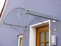 Glasvordach - Modell Zürich