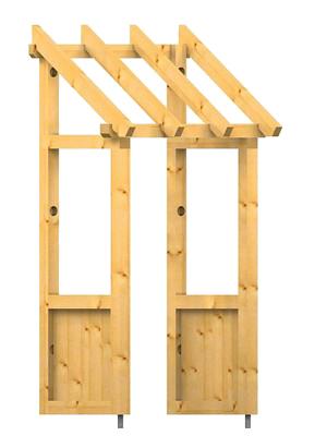 holz vordach westerwald 34. Black Bedroom Furniture Sets. Home Design Ideas