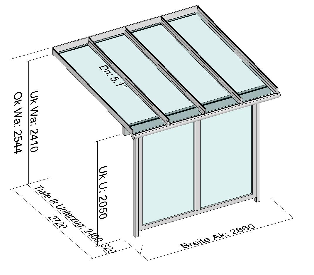 Vordach Planung, Zeichnungen
